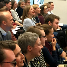 photograph of audience at conference