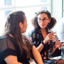 Culture24 conference participants talking